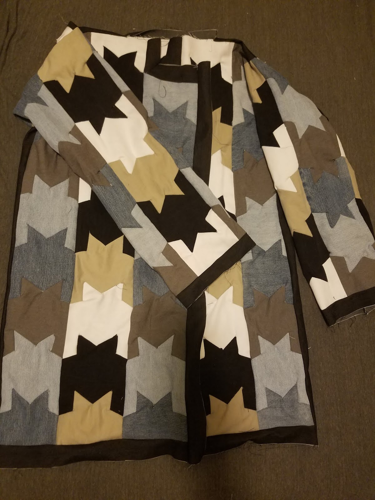 Upcycled Trench Dress | UpcycledDenim