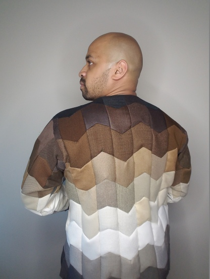 Patchwork Jacket - Back