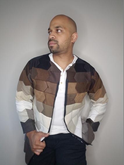 Patchwork Jacket - Front