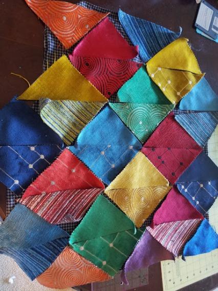 Patchwork Vest - Color Scheme - Back