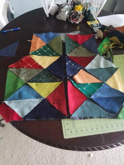 Patchwork Vest - Color Scheme - Front