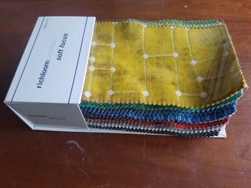 Patchwork Vest - Fabric Sample Book
