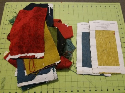 Patchwork Vest - Fabric Samples - Adhesive