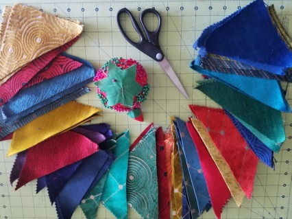 Patchwork Vest - Triangle Spread