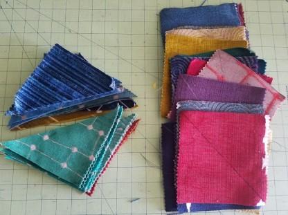 Patchwork Vest - Triangles