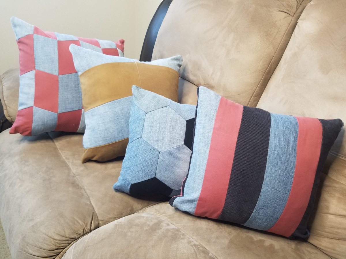 Upcycled Pillows Teaser || Upcycled Pants